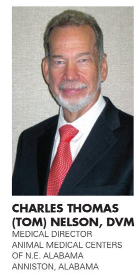 CHARLES THOMAS NELSON, DVM
