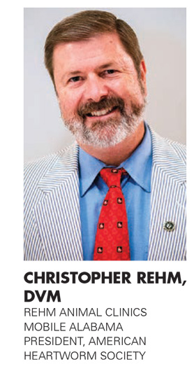 CHRISTOPHER J. REHM, DVM