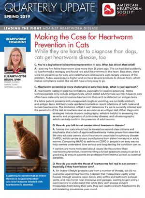 Making the Case for Heartworm Prevention in Cats