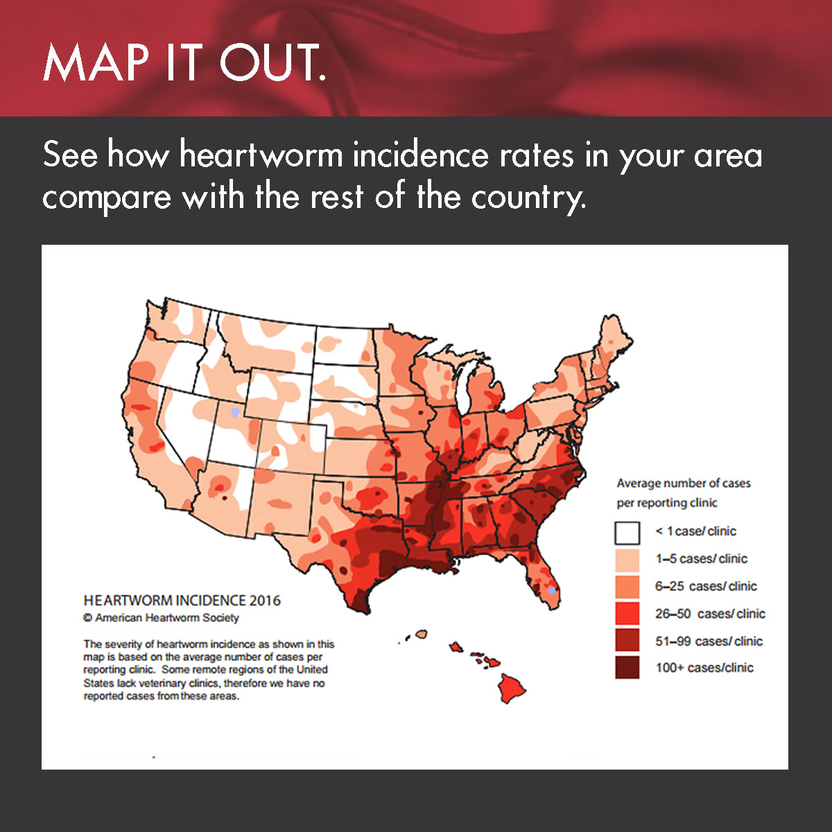 Heartworm Incidence Maps - American Heartworm Society